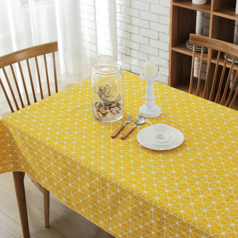 2017 new arrival nordic simple geometric table cloth high - Manteles para mesa ...