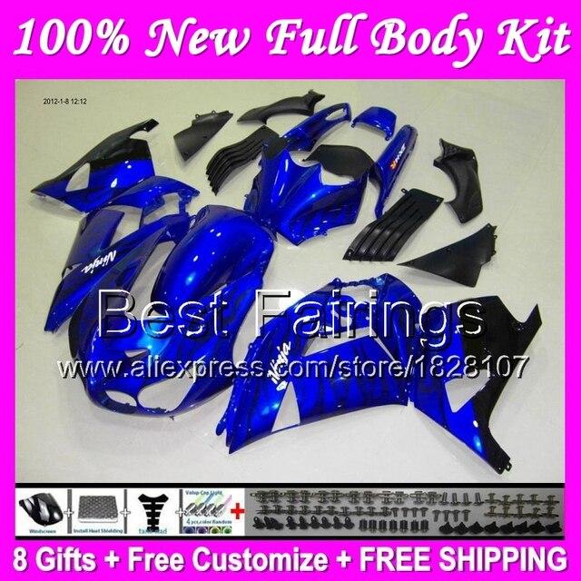 Us 45125 5 Offfairing Black Flames For Kawasaki Ninja Zx14r 12 14 Zx 14r 12 13 14 Zx14 R B022 Blue Black Zx 14r 2012 2013 2014 Zx 14 R Decal In