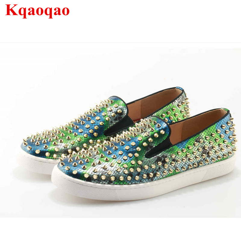 Sapato New Rivets Embellished Masculino New Designer Superstar Hot Sale Trainers Flats Men Shoes Casual Shoes Men Low Top Loafer factory direct sale women cloth shoes new designer shoes bowknot casual shoes work flats