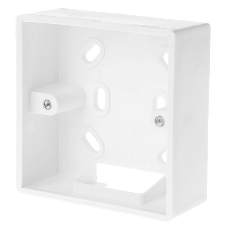 86*86 мм настенный распределительная коробка для термостат Температура контроллер коробки чехол держатель