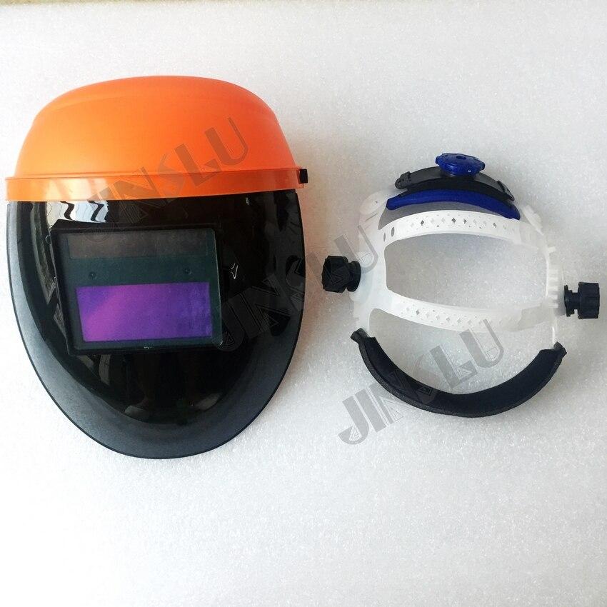 Freies Verschiffen Schweißhelm Auto Verdunkelung Schweißen Maske Arc Tig Mig Solar Power Cap