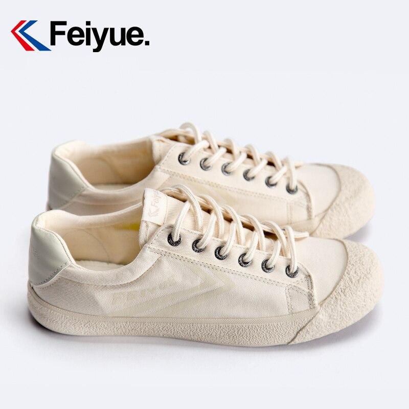 Feiyue shoes New classic Martial arts Tai Chi canvas shoes Rubber shoes men women sneakers 4