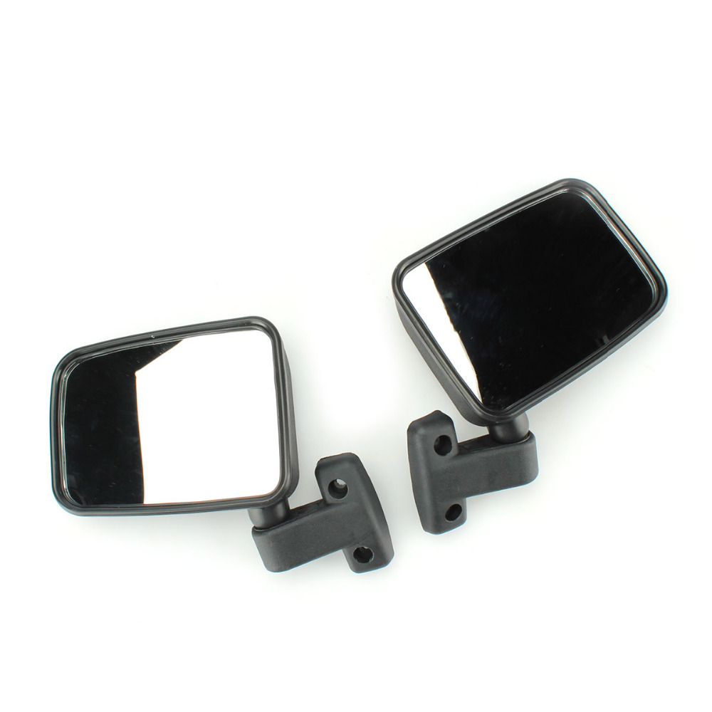 TAIHONGYU Pair Side View Mirror For MSU500 SuperMach <font><b>UTV</b></font> 400 <font><b>500</b></font> 700 <font><b>HiSun</b></font> Massimo image
