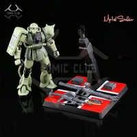 COMIC CLUB IN-STOCK MS metal soldier MB 1/100 metal build gundam green zaku II alloy robot high quality action figure