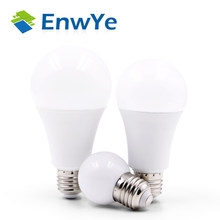EnwYe LED 3W 6W 9W 12W 15W 18W 20W 220V E27 LED Bulb Lamp Smart IC Real Power Cold White/Warm White Lamp(China)