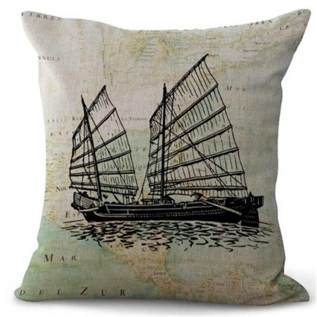 Gallon Ship Cushion Covers   3
