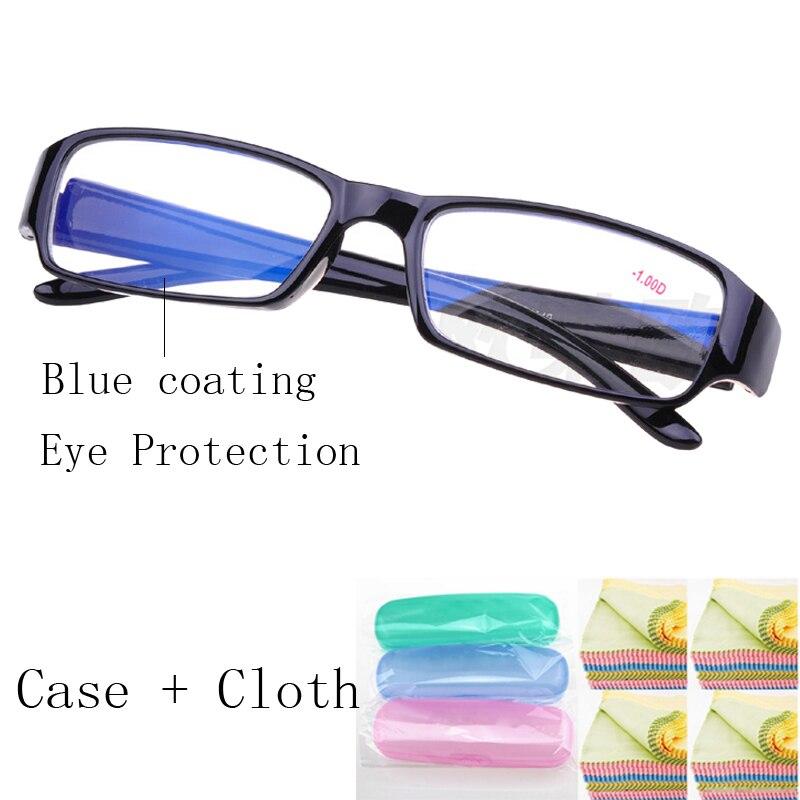 Miopia nearsighted Óculos de Armação Com Lentes de Grau Óculos optical  óculos de Dioptria de 100 a 600 em Armações de óculos de Acessórios de  vestuário no ... f56fd05eb7