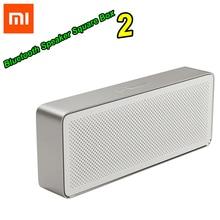 Bluetooth Speaker Square-Box Music Sound-Quality Xiaomi Original 2-Stereo Play HD High-Definition