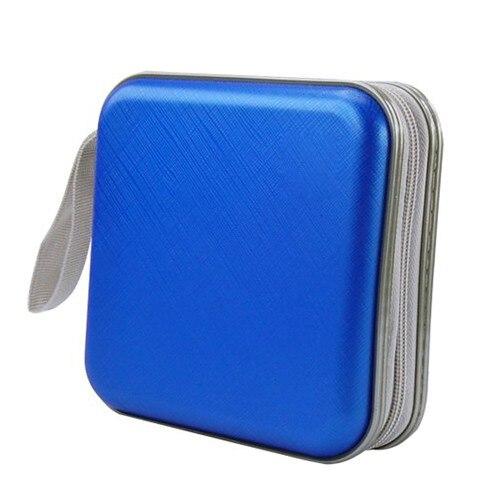 EDT-Colorful 40 PCS DVD/CD Disc Carry Holder Storage Case-