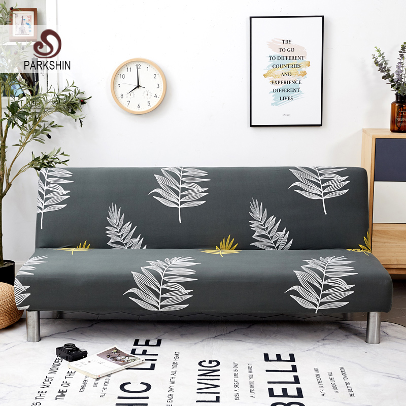 Parkshin mode nordique tout compris housse de canapé-lit pliant serré Wrap canapé housse de canapé sans accoudoir housse de canap cubre