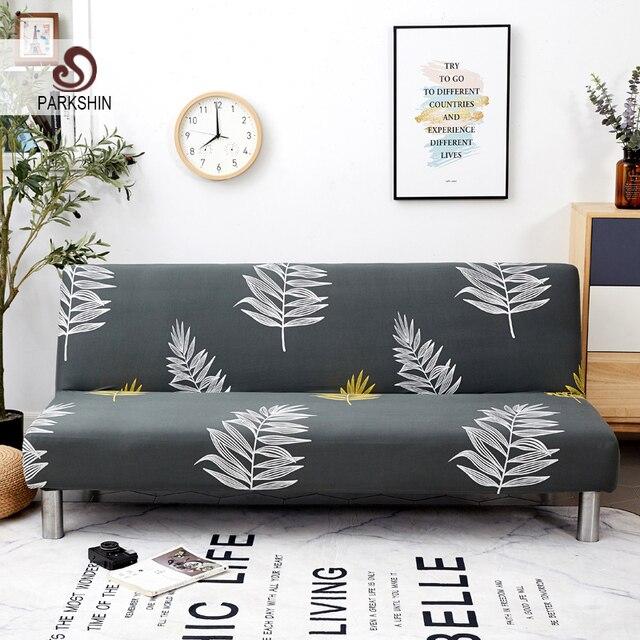 Parkshin الأزياء الشمال شامل سرير أريكة قابلة للطي غطاء ضيق التفاف أريكة غطاء أريكة دون مسند ذراع housse دي canap cubre