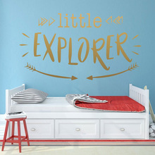 Funny English Sentence Home Decoration Accessories For Kids Rooms Waterproof Wall Art Decal