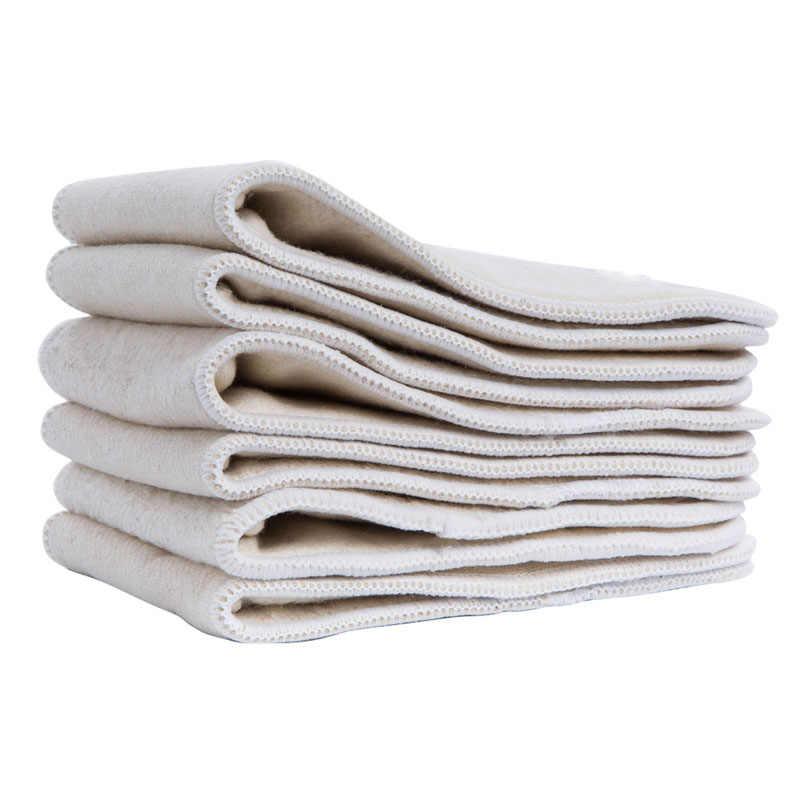 4 schichten Hanf Baumwolle Windel Einsatz Passt Baby Tasche Tuch Windel Windel Liner Super Saugfähigen Windel Einsätze Für Baby Windeln