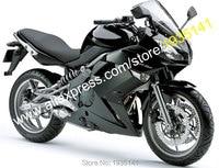 Hot Sales,For Kawasaki Ninja 650R ER6F 2009 2010 2011 ER 6F 09 10 11 ER 6F Full Black Bodyworks Aftermarket Motorcycle Fairing