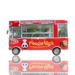 Trójkołowy wózek na żywność rower mini data data powrotu (żywności ciężarówki mobilna przyczepa gastronomiczna z grillem  ulica  styl  z żywnością w Roboty kuchenne od AGD na