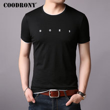COODRONY Brand T Shirt Men Short Sleeve T-Shirt Summer Streetwear Casual Mens T-Shirts O-Neck Cotton Tee Homme S95003