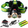 8000 LM Cree XM-L T6 Head Lamp High Power LED Headlamp 4Mode LED Headlight+EU/US Charger+2x18650 battery For Hunting/Camping