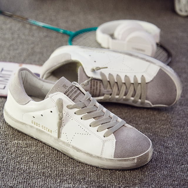 056dacc080e4 Women casual shoes Italy Golden Genuine Leather Casual Trainers Goose star  shoes Breathe Shoes Footwear