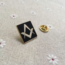 100pcs wholesale custom masonic free masons lapel pin metal badge craft  souvenir lodge freemasonry square brooches and pins 94bd9780e185