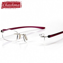 Quality Anti Fatigue Frameless Reading Glasses