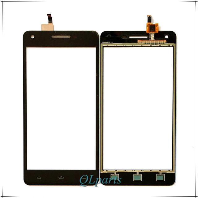 5.0 polegada do telefone móvel do painel de toque para a philips v377 377 touch screen digitador frente lente de vidro sensor touchscreen frete grátis