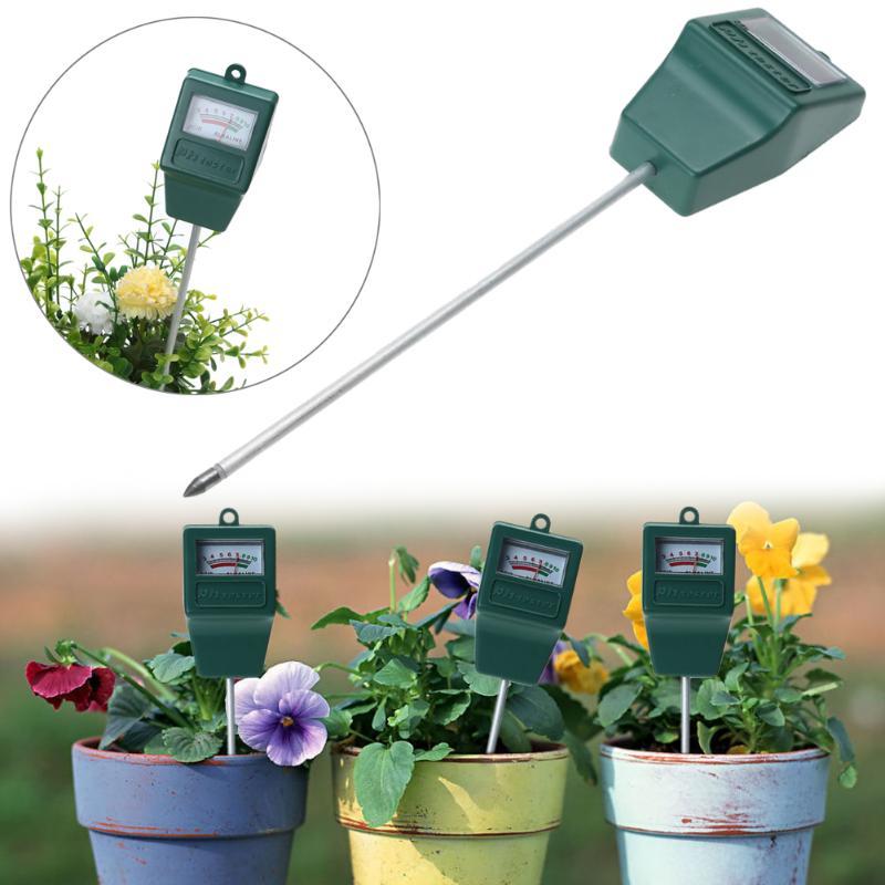 Garden Plant Acidity Moisture PH Measurement Tool Digital Soil Tester Potting Agriculture Meter Plants Flowers Analyzer Detector