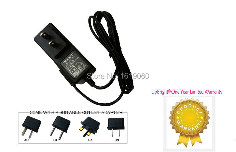 with LED Indicator POWE-Tech AC//DC Adapter Charger for PM8907//808 Fluke 43 43B Power Quality Analyzer Meter 5 Feet
