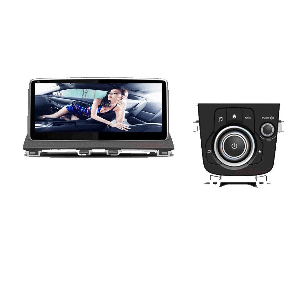 KiriNavi 10.25 Android 7.1 Car DVD For Mazda 3 Axela Radio Stereo Audio Multimedia GPS Navigation Head Unit RDS BT 4G