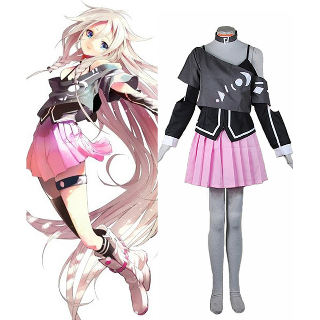 vocaloid 3 library ia cosplay uniform suit full set women girls