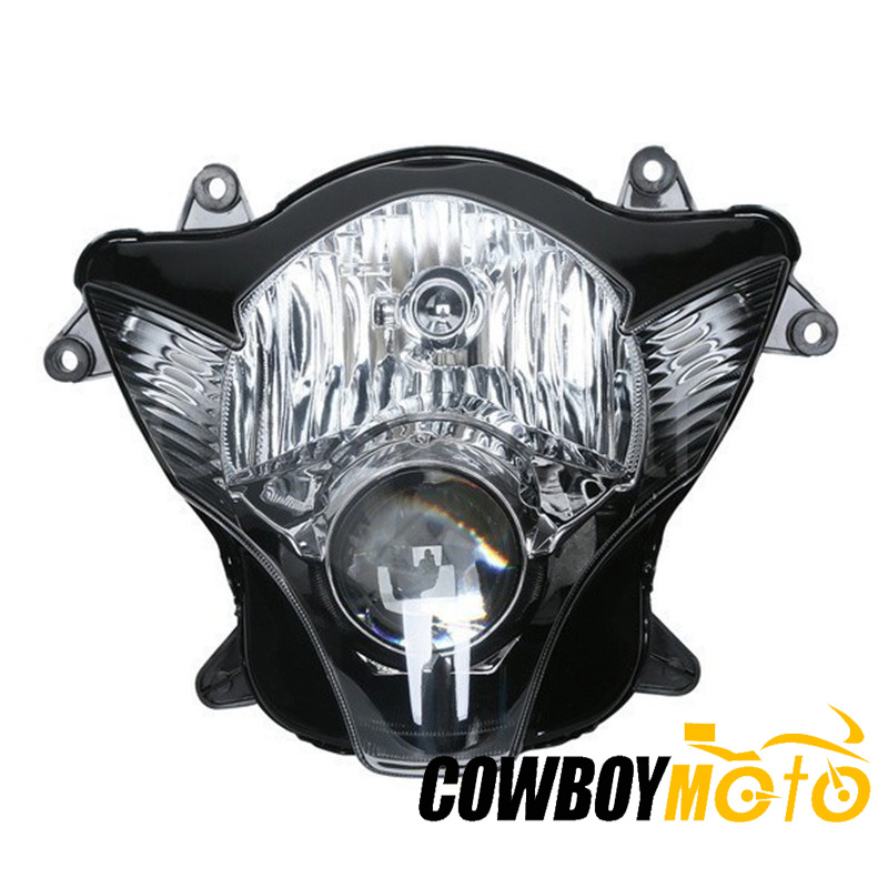 Motorcycle Front <font><b>Light</b></font> Headlight Head Lamp Assembly Housing Kit For Suzuki GSXR600 GSXR750 <font><b>GSXR</b></font> <font><b>600</b></font> 750 GSX-R600 2006 2007 K6 K7 image