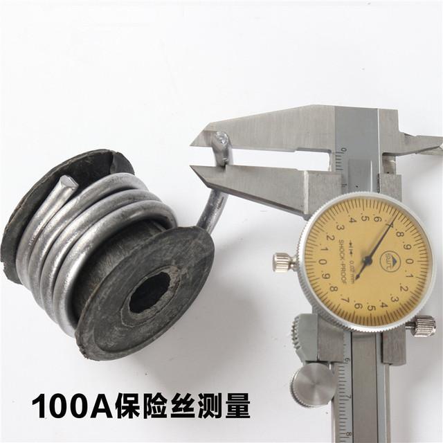 1PCS  YT754  Galvanized Wire  Fuse  Fusible Cutout   230g   5A/10A/15A/20A/25A/30A/40A/45A/60A