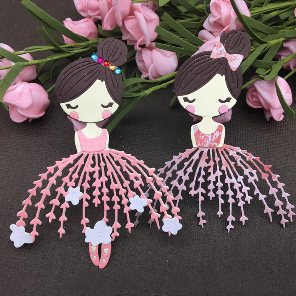Metal Cutting Dies Doll Stencil Die-Cut Album Punch-Art Scrapbook Paper-Craft Making-Cards