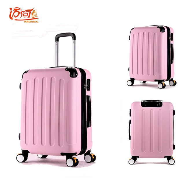 Aliexpress.com : Buy ukraine vintage luggage girls pc pink luggage ...