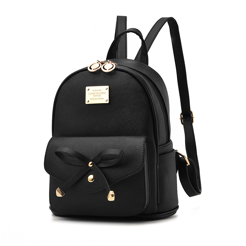 Hot Sale Vintage Casual New Style PU Leather School Bags High Quality Women Candy Clutch Bags Famous Designer Brand Backpacks hot sale 2017 vintage cute small handbags pu leather women famous brand mini bags crossbody bags clutch female messenger bags