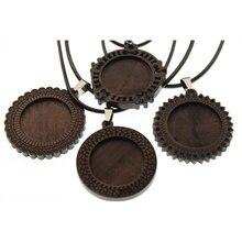 5 шт подвески для ожерелья с кожаным шнуром