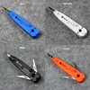 110 Wire Cutter Knife Telecom Pliers Krone LSA Punch Down Tool For Rj45 Keystone Jack Module Network Cable Telephone Patch Panel