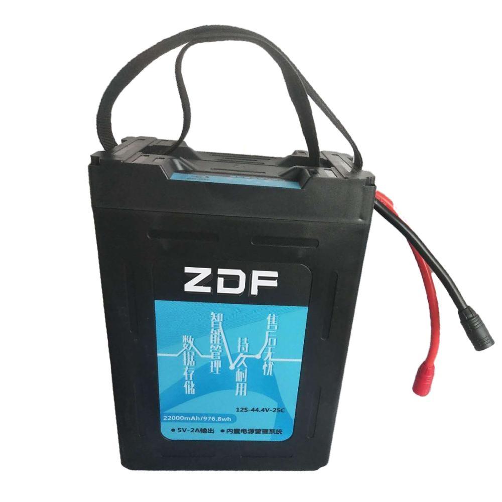 ZDF bonne qualité Lipo batterie 22.2 V 6 S 16000 MAH 25C-50C RC AKKU Bateria pour avion hélicoptère bateau FPV Drone aéronef sans pilote (UAV)