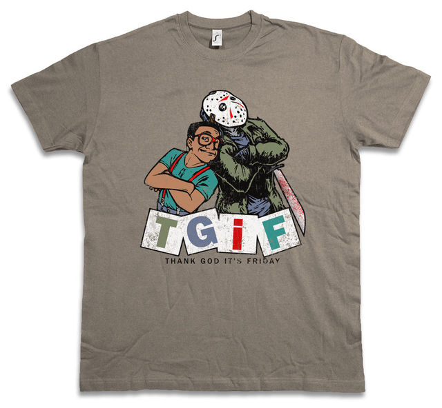 Tgif Ii T Shirt Thank God Its Friday Family Steve Jason Urkel Fun