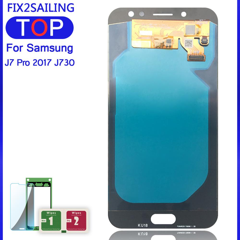 🛒 AMOLED for SAMSUNG J7 2017 Display J730 J730F J7 Pro LCD Touch
