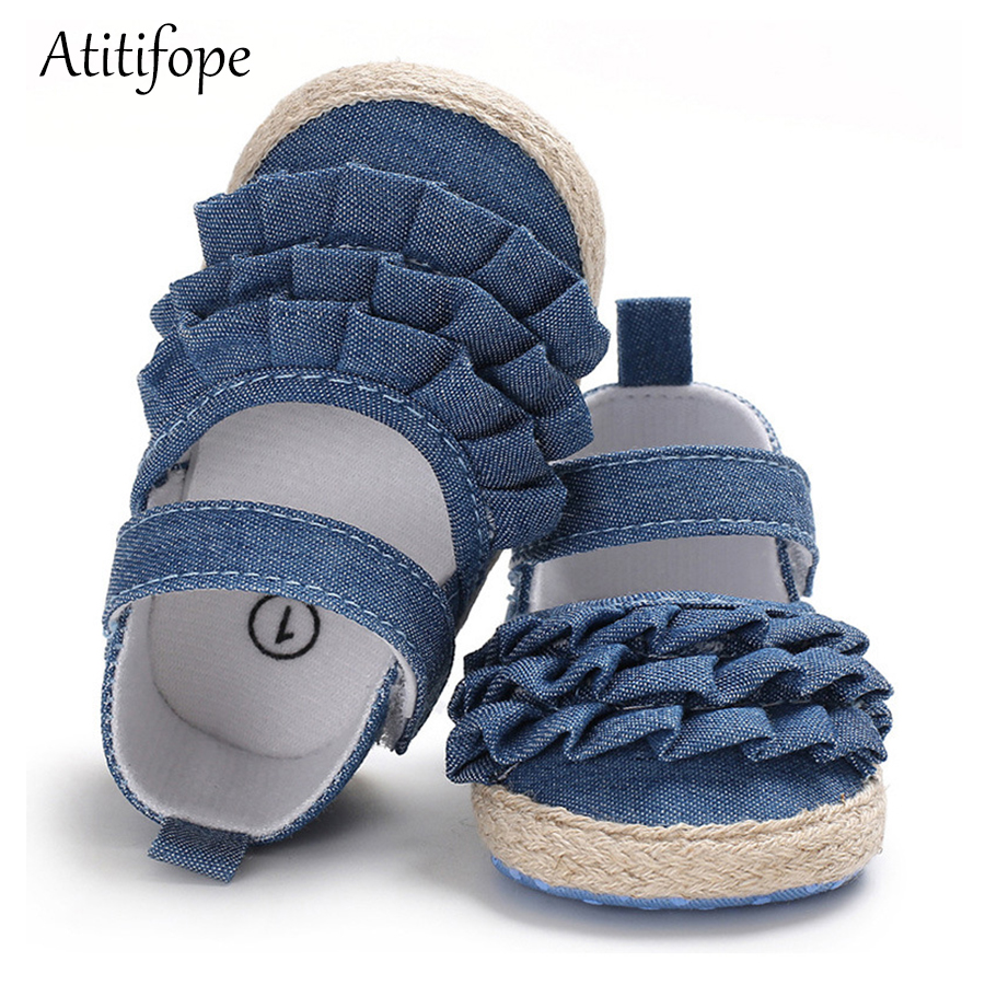 Newborn Baby Toddler Shoes 0-18months Old Baby Soft Bottom Female Princess Cotton Shoes First Walker Baby Girls Shoes