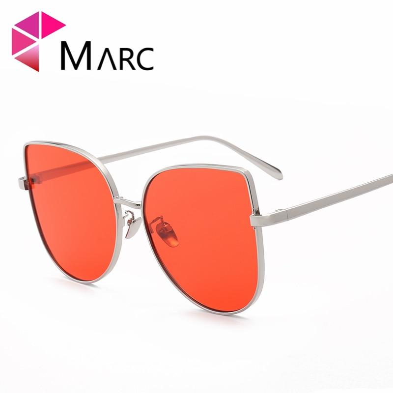 Sonnenbrille Lila Uv400 Frauen blau Rot Cat Fashion Marc Legierung rot Grün Pblue Eye purpurrot mehrfach rosa wd1X0Udxq