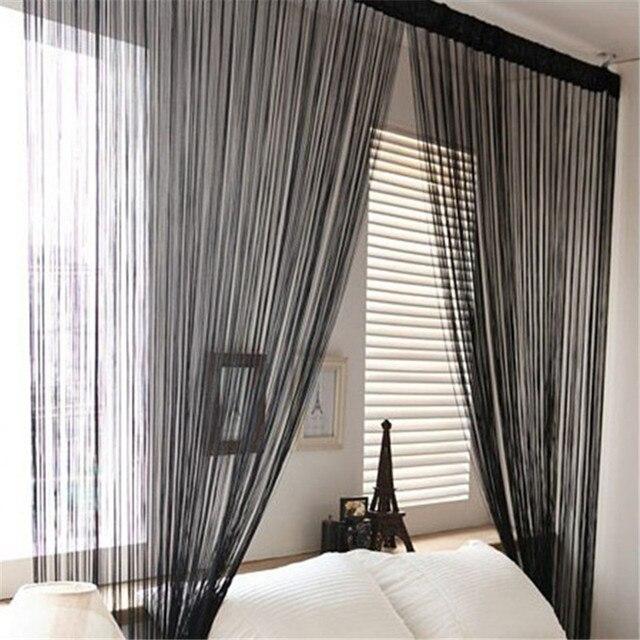 String Tassel Panel Curtain Room Divider Door Hanging 1m X 2m Window Curtain