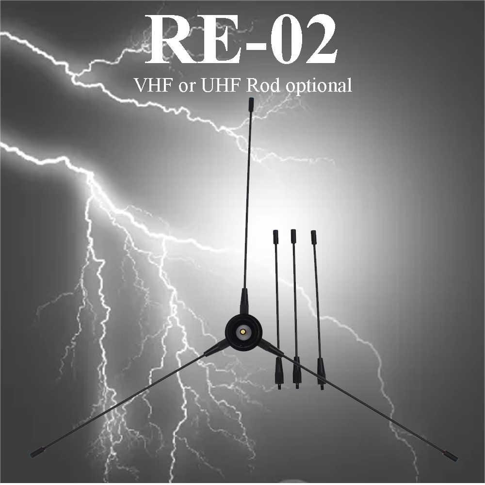 Nagoya Re-02 Mobiele Grond Antenne UHF-F Radiostation Radicale 10-1300 Mhz Voor Voor Auto Radio Mobiele radio
