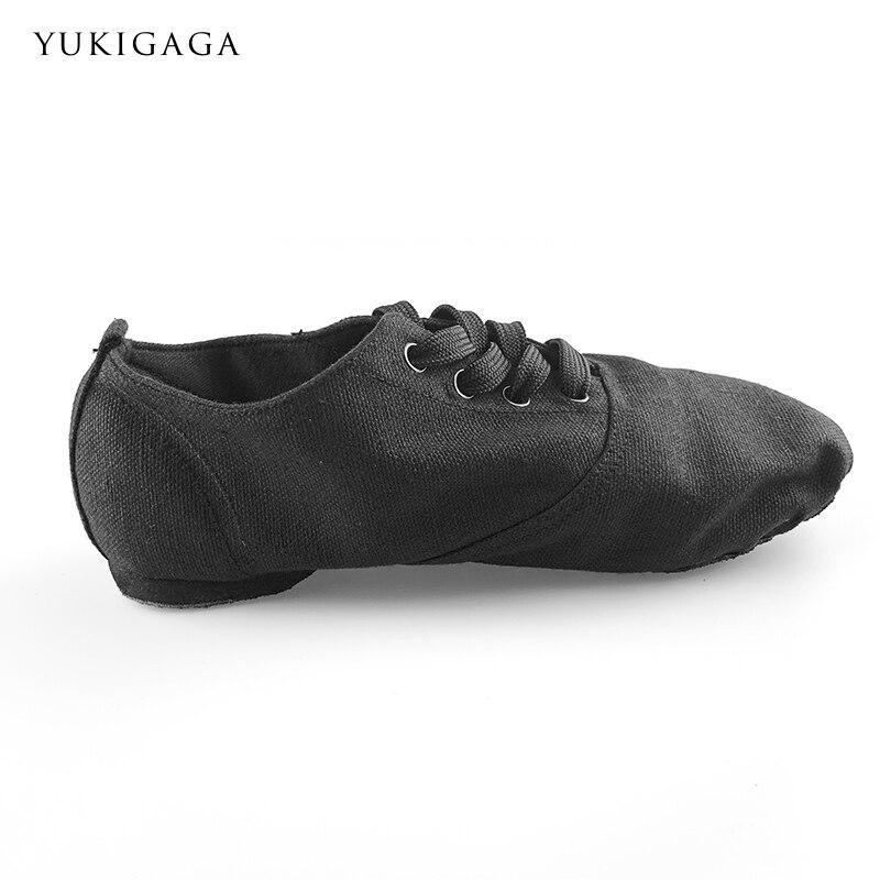 2019 Soft Cloth Dance Jazz Shoes Ballet Shoes For Men Women Children Black Sport Sneakers Gymnastics Fitness Shoes