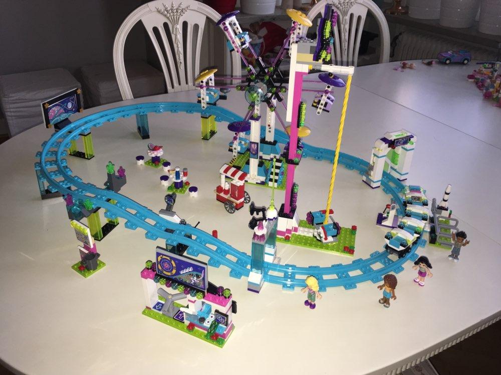 BELA 10563 Model building kits compatible with lego city girls friend Amusement Park 3D blocks Educational model building toys