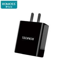 Оригинального Romoss 18 Вт USB Быстрой Зарядки Интеллектуальный Адаптер Поддержка ЕС США ВЕЛИКОБРИТАНИЯ Plug Зарядное Устройство Для Samsung LG Xiaomi5s iPhone7 Huawei