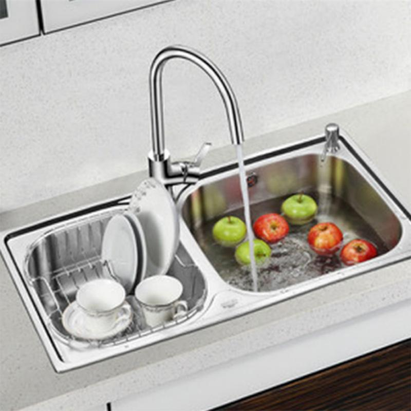 Plastic + Stainless Steel 300ml Soap Dispenser Bathroom Kitchen Sink Liquid  Soap Dispense New(China