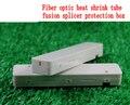 Frete grátis AB94C 200 peças de proteção de arame coberto tubo de contração térmica de fibra óptica splicer da fusão caixa de caixa de proteção
