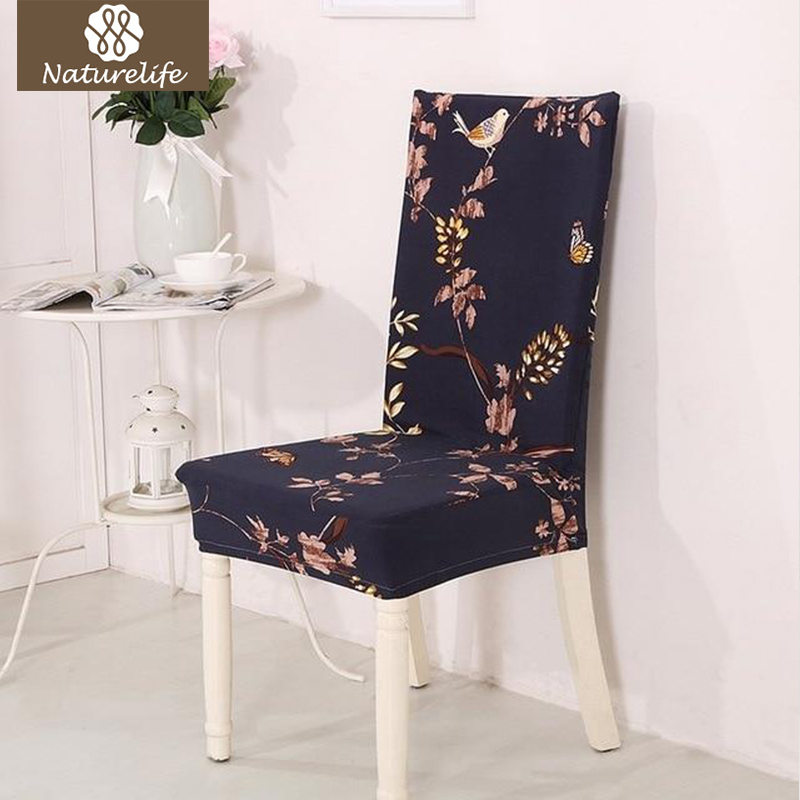 Naturelife Silky Elastic Seat Case Antifouling Home Chair Covers Removable Modern Pattern American Seat Protector Dropshipping(China)