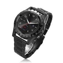 Edelstahl Analoganzeige Datum männer Casual Uhr Männer Uhren T2/S2 Anrufe SMS Fitness Tracker Kamera Smartwatch Telefon
